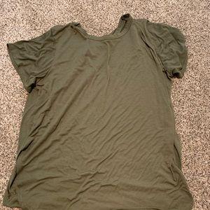 Green shein tunic size 4XL